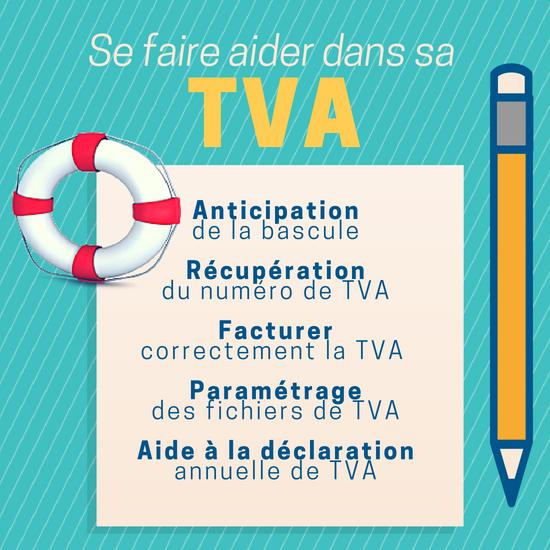 Accompagnement à la gestion de la TVA