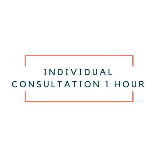 Individual consultation 1 hour
