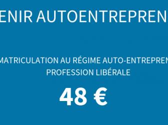 Immatriculation au régime auto-entrepreneur profession libérale