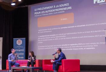 PAS, le prélèvement à la source pour l'autoentrepreneur, Assises FEDae 2018