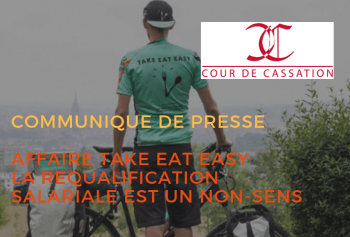 Affaire Take Eat Easy : la requalification salariale est un non-sens
