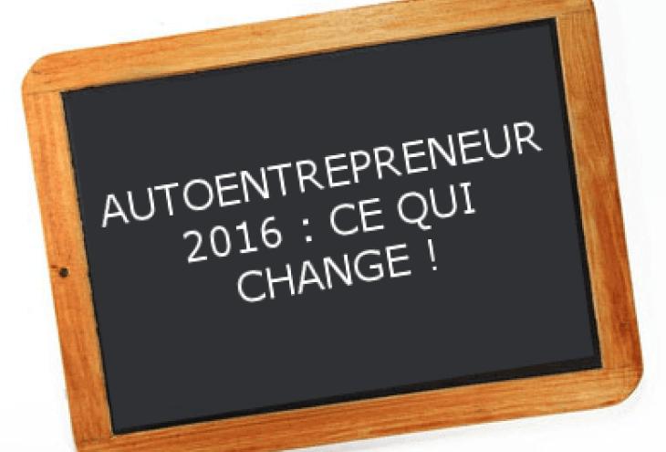 Autoentrepreneur ce qui change en 2016 for Idee auto entrepreneur 2016