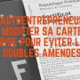 Carte grise et contravention : la modifier pour éviter une amende double