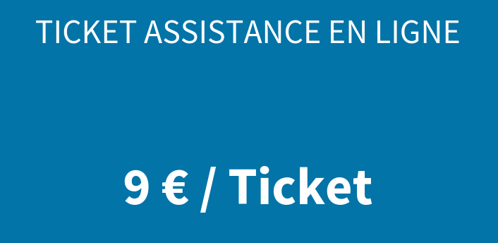 Ticket assistance en ligne